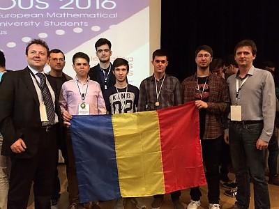 Patru studenți români, medaliați la Olimpiada Internațională de Matematică