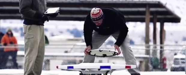 Dronă creată special pentru a controla vremea