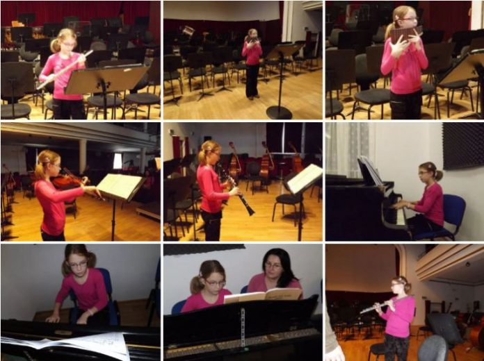 """Talent rar în lume! """"Se naşte o dată la o mie de ani""""! O fetiță din Oradea este un geniu asemenea lui Mozart"""