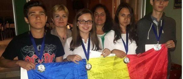 Lotul olimpic al României a obtinut medalii de aur, de argint și de bronz la Balcaniada de Geografie