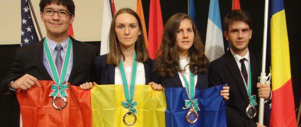 olimpicii români, Olimpici la Olimpiada Internationala de Științe ale Pământului 2016