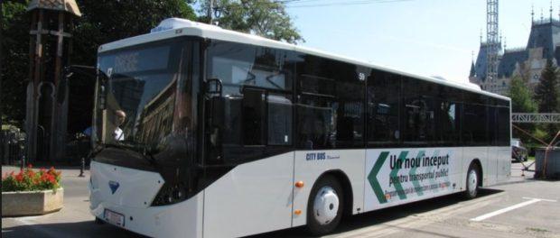Autobuzul românesc făcut lângă Bucureşti pe care nu îl vrea nimeni. Are motor Mercedes și costă cu 40.000 de euro mai puțin decât cele din import