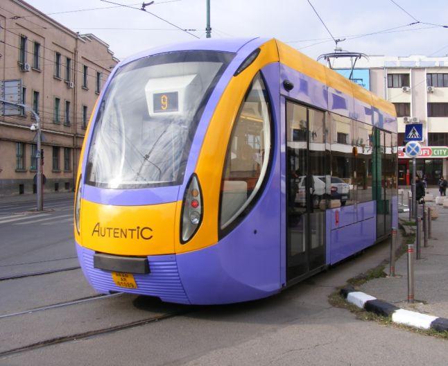 tramvai românesc