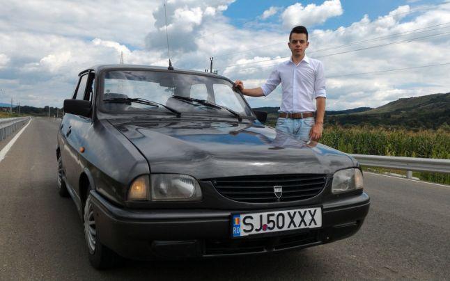 El e românul care-şi porneşte Dacia 1310 prin SMS