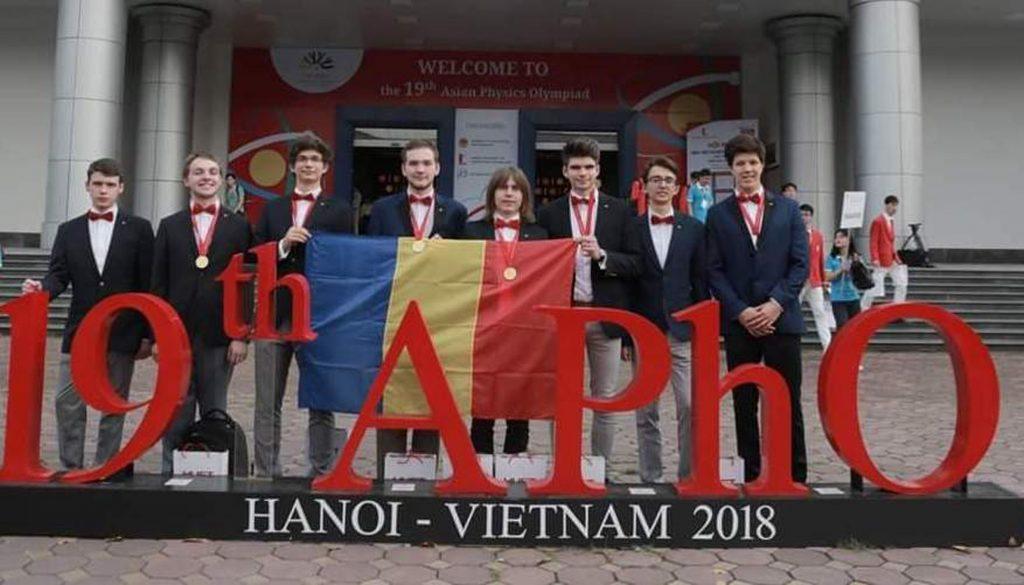 Elev din Constanța, medalie de aur la Olimpiada de Fizică din Vietnam