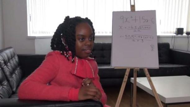 Marea Britanie / Incredibil: La 10 ani, ea este deja absolventă de matematică